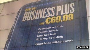 Ryanair poster