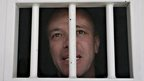 John Jairo Velasquez, nicknamed Popeye, at Combita prison on 22 Nov 2009