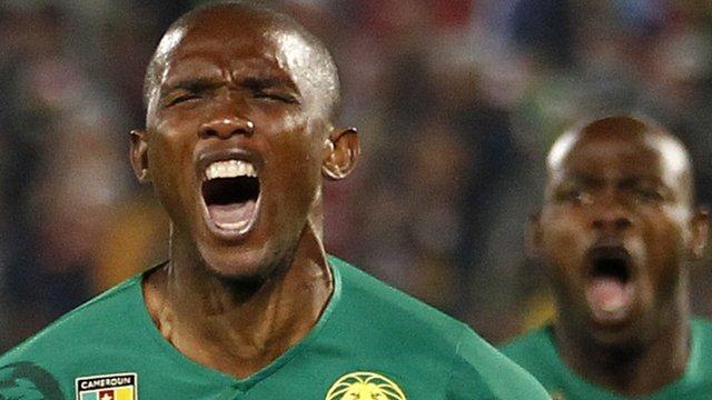Cameroon striker Samuel Eto'o