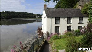 The Boat House, where Dylan Thomas and his wife Caitlin lived between 1949 and 1953