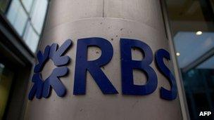 RBS pillar sign