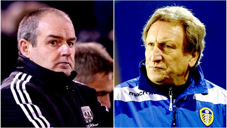 Steve Clarke and Neil Warnock