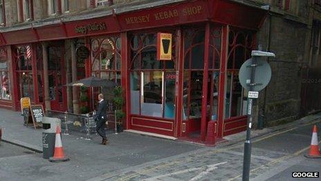 Mersey Kebab on Dale Street