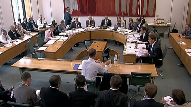 A meeting of the Home Affairs select committee