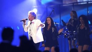 Rod Stewart at Commonwealth Games