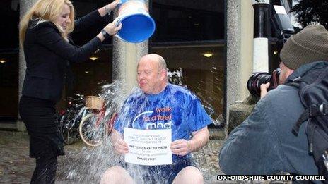 Ian Hudspeth ice bucket challenge