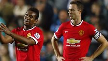 Anderson and Jonny Evans