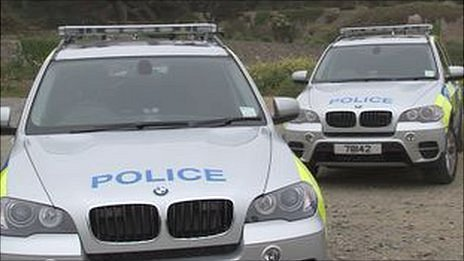 Guernsey Police vehicles