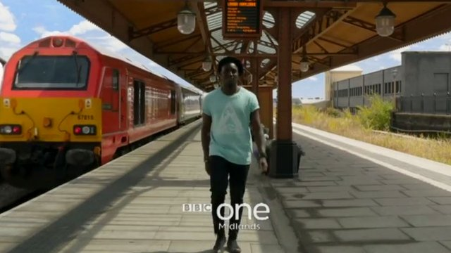 BBC Inside Out presenter Andy Akinwolere
