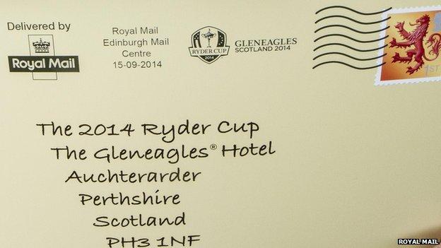 ryder cup postmark