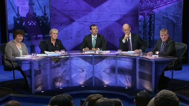The debate panellists