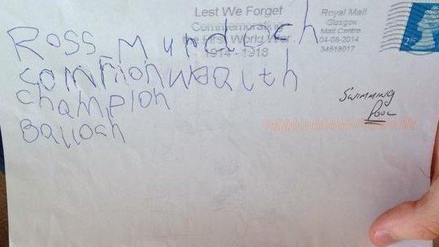 Letter to Ross Murdoch