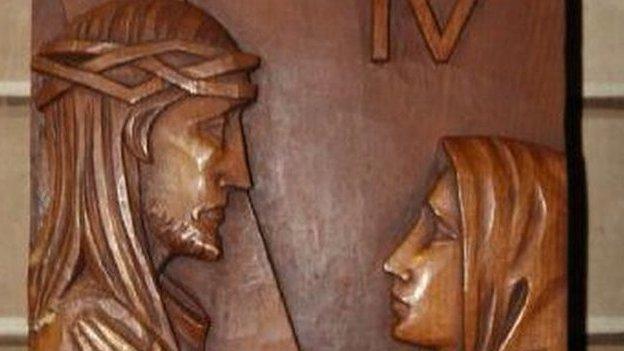 Italian Chapel plaques