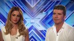 Cheryl Cole and Simon Cowell