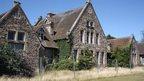 Grantham Hospital building (derelict)