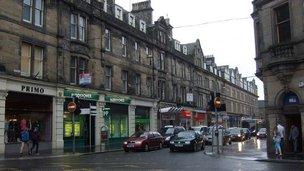 Queensgate in Inverness