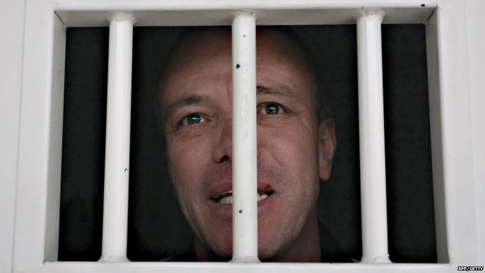 John Jairo Velasquez Vasquez pictured at Combita prison in Boyaca, Colombia on 22 November 2009.