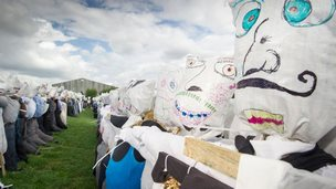 Visitors will be able to contribute scarecrows until 7 September when the total will be confirmed and sent off to Guinness World Records bosses for verification of the achievement