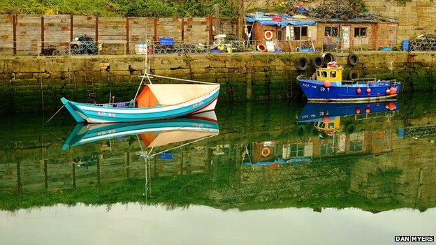 Boats in Seaham