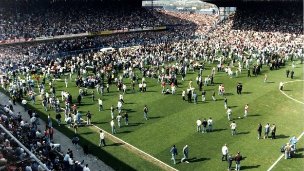 Hillsborough disaster 15 April 1989