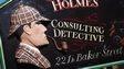 Sherlock Holmes sign