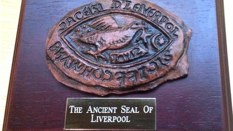 Seal of Liverpool