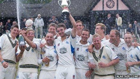 Devon win Minor Counties Trophy