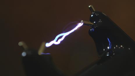 Stun gun firing - generic image