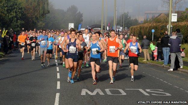 Vitality Oxford Half Marathon