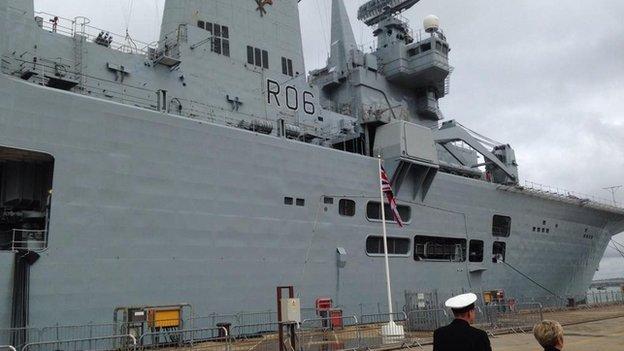HMS Illustrious decomissioned