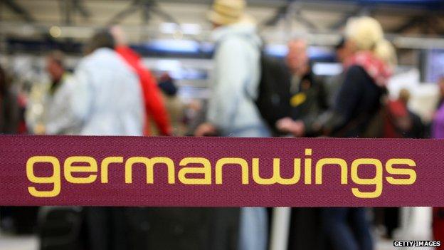 German Wings logo