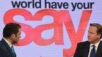 Ros Atkins interviews David Cameron