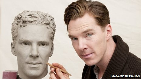 Benedict Cumberbatch and wax work