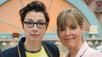 Great British Bake Off presenters Sue Perkins and Mel Giedroyc