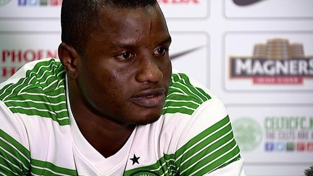Celtic new signing Wakaso Mubarak