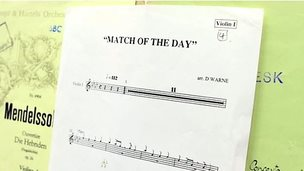 Match of the Day sheet music