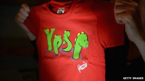 T-shirt for yes campaign