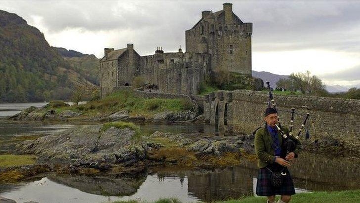 Iconic Scottish scene