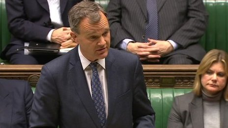 Foreign Office Minister Mark Simmonds