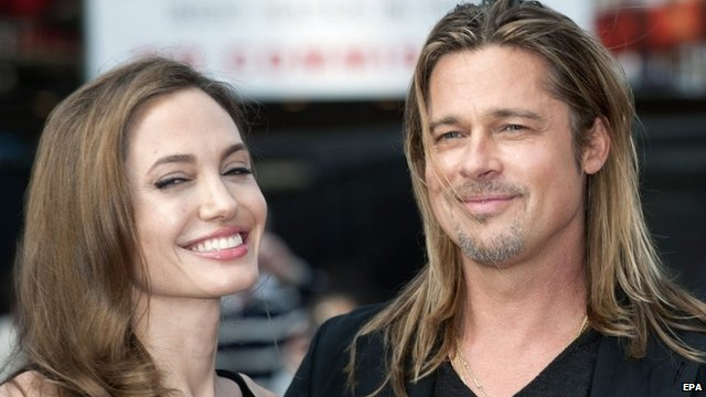 Angelina Jolie and Brad Pitt, 2013