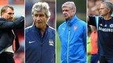 Brendan Rodgers, Manuel Pellegrini, Arsene Wenger and Jose Mourinho