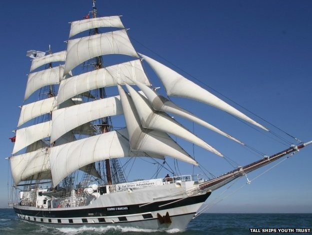 Tall ship (Pic: Tall Ships Youth Trust)