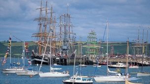 Tall ships in Falmouth (Pic Paul Watts)