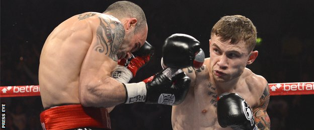 Kiko Martinez and Carl Frampton