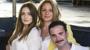 Chris and Regina Catrambone with their daughter Maria Luisa