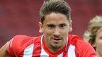 Gaston Ramirez in action for Southampton