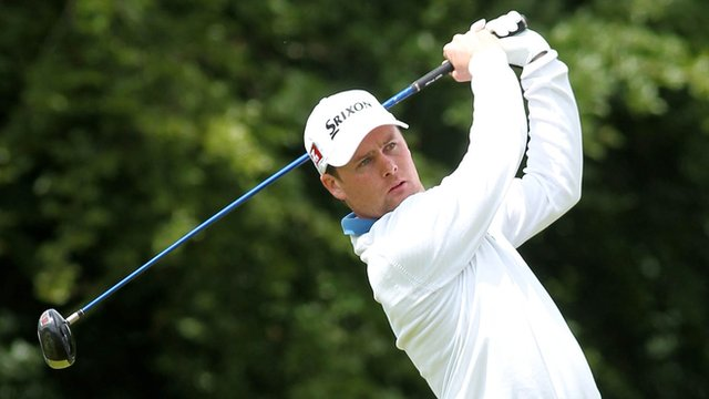 Clandeboye man Jonathan Caldwell is three shots off the pace after firing a 65 in the opening round of the Northern Ireland Open Challenge at Galgorm Castle