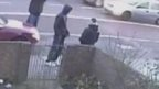 CCTV footage of suspects approaching Dean Mayley