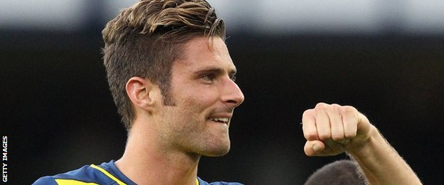 Arsenal striker Olivier Giroud