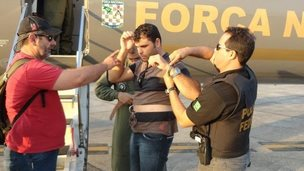 Brazilian police arrest one of gang of deforesters